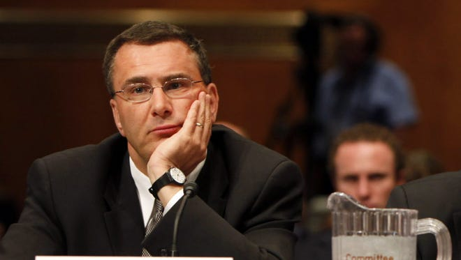 Jonathan Gruber participates in a hearing on the overhaul of the heath care system.