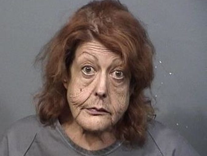 Catherine Krafft, 64, of Titusville, charges: Trespass