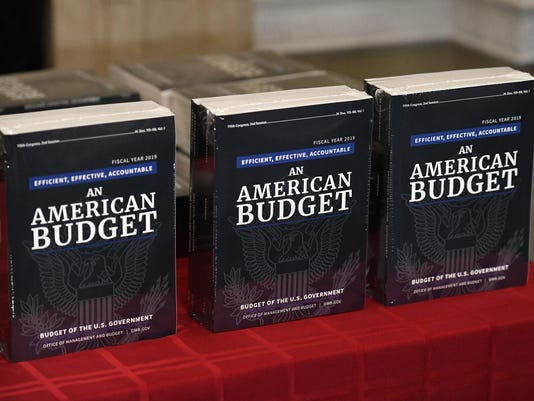 President Trump's fiscal year 2019 budget proposals deliver to the house budget committee - DC