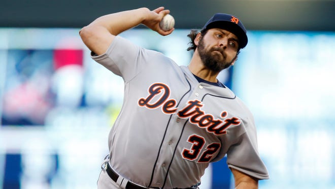 Tigers pitcher Michael Fulmer makes his major league debut as he faces the Minnesota Twins in the first inning Friday in Minneapolis.