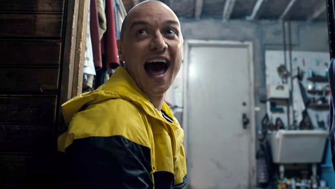 "Personality crisis: James McAvoy cracks up in ""Split."""