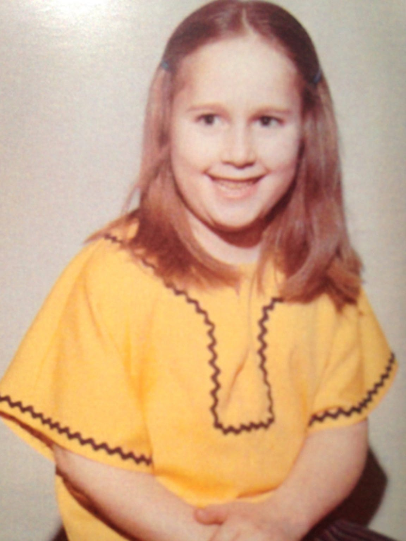 Teresa Sievers in grade school