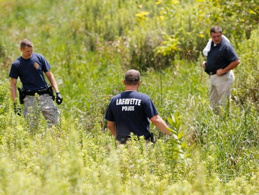 LAF Police investigating body found in southside ditch