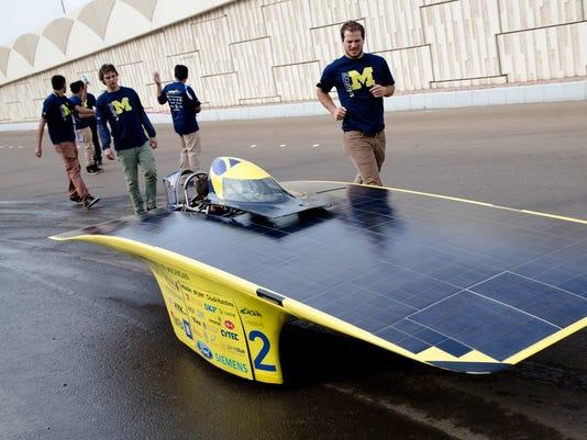 Abu Dhabi Solar Challenge
