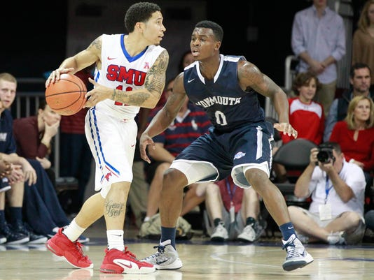 NCAA Basketball: Monmouth-NJ at Southern Methodist