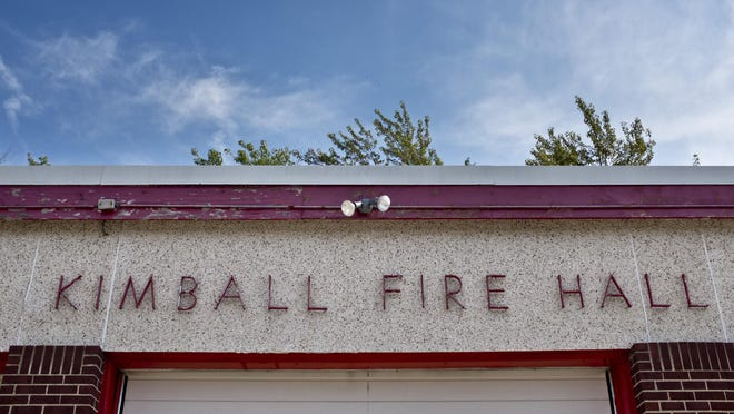 The Kimball Township Fire Hall pictured Oct. 8,2015 , 1970 Allen Road. Construction on a new fire hall is scheduled to begin in April 2016.