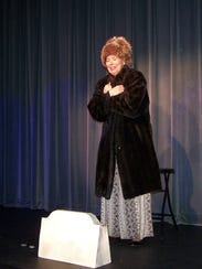 """A scene from Cultural Park Theater's """"Cemetery Club"""""""