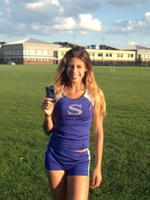 Sayreville's Dakota Gerges is the HNT Girls Track AOY