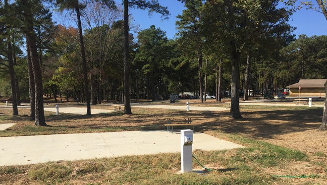 Timberlake Campground at Barnett Reservoir has undergone $1.5 million in additions including 27 new campsites.
