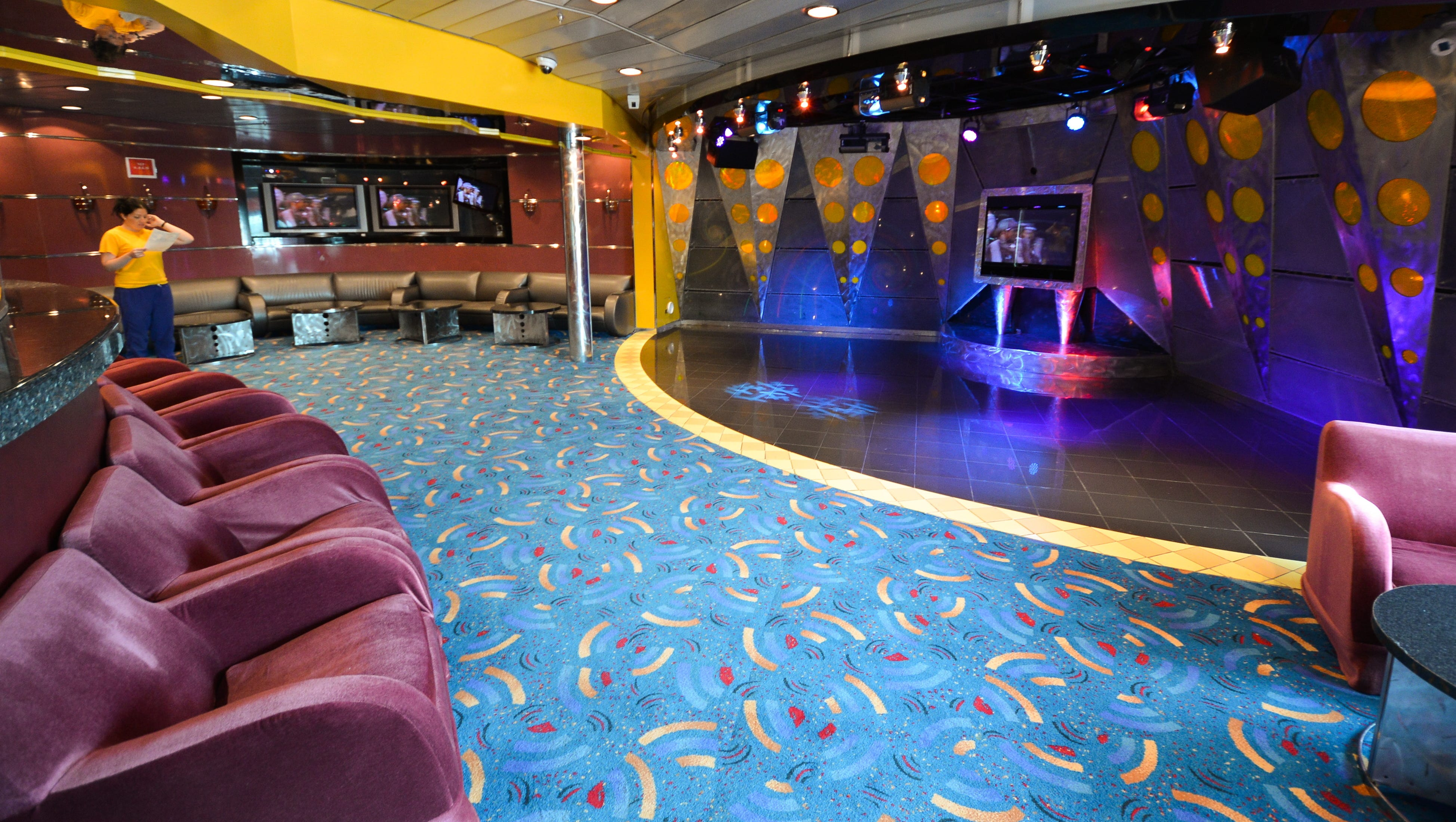 Adjacent to the Adventure Ocean area is the ship's teen center. A nursery for children ages six months to three years also was added to the vessel during the 2012 makeover (hourly rates apply).