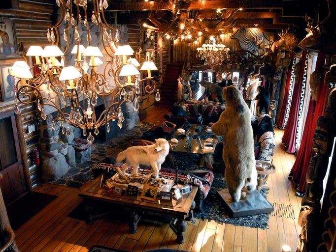 historic upper peninsula estate  granot loma  for sale at  40 million