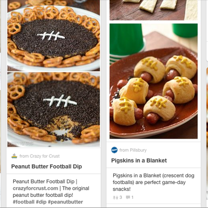 Broncos party recipes on Pinterest.