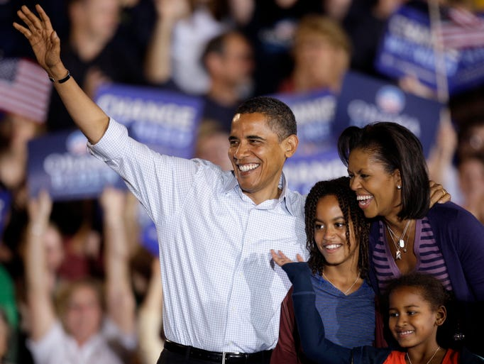 Democratic presidential candidate, Sen. Barack Obama,