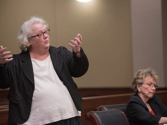 Defense attorney Colleen Murphy offers her final defense of client Mary Gabriel.