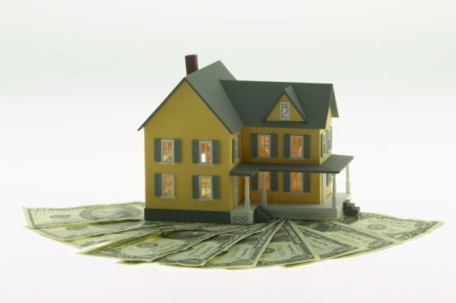 Model a home equity loan