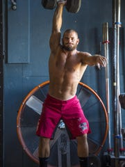 Mat Fraser won the 2017 Reebok CrossFit Games on Sunday in Wisconsin. He is seen at Champlain Valley CrossFit in Williston on Tuesday, Aug. 9, 2016.