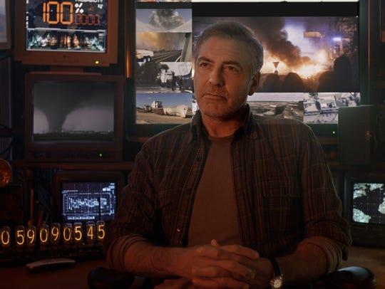 "George Clooney stars in ""Tomorrowland."""