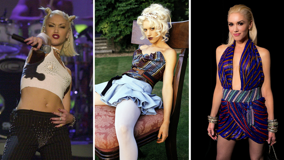 The many stages of Gwen Stefani.
