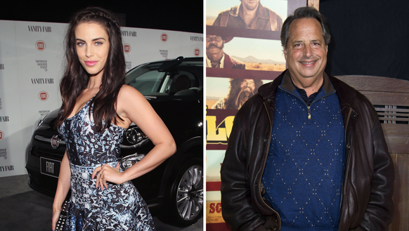 Jessica Lowndes and Jon Lovitz