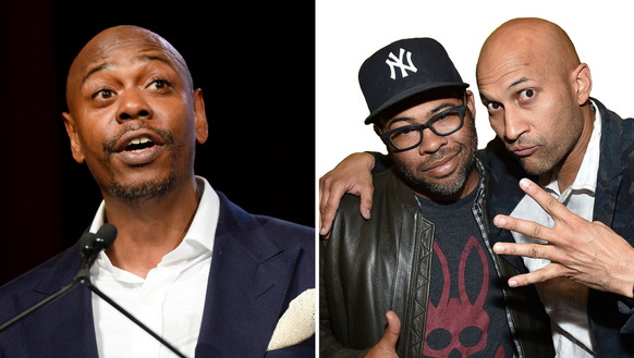 Dave Chappelle and Key & Peele.