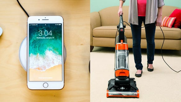 Amazon has deals from wireless chargers to vacuums.