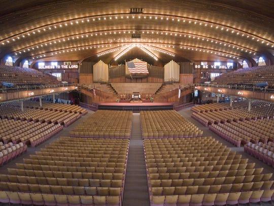 The Great Auditorium in Ocean Grove.