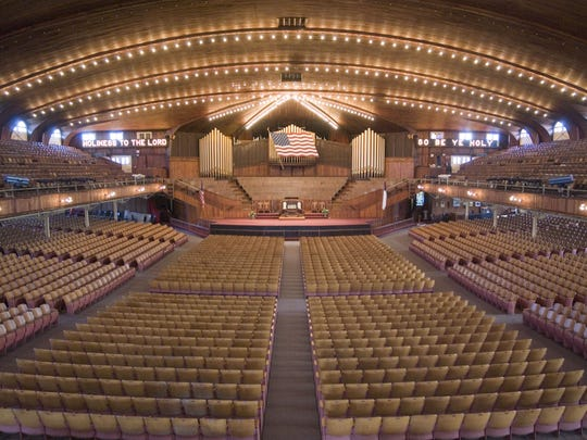 The Great Auditorium in Ocean Grove.
