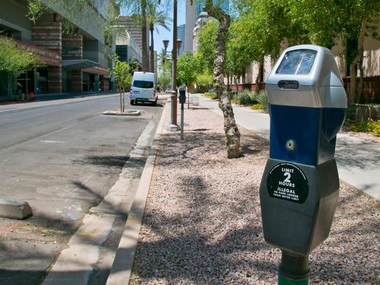 Phoenix parking meter