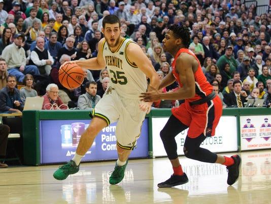 Stony Brook vs. Vermont Men's Basketball 01/13/18