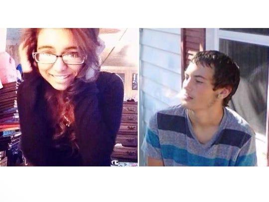 Danielle Torrez and Dakota Moore were killed in an October crash in Sanilac County.