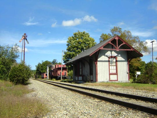 Many years ago the Newfoundland Railroad Station was where some residents got on the train to travel south or north.