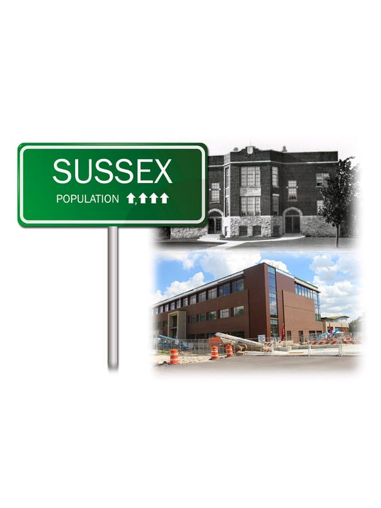 Village of Sussex growth graphic