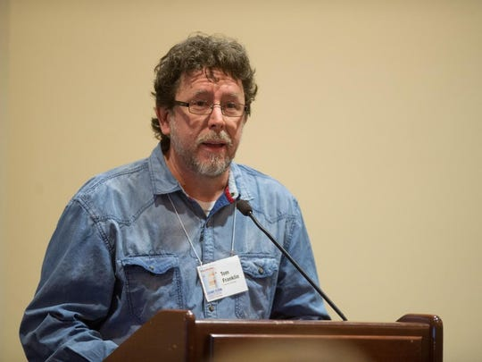 Novelist Tom Franklin, a University of Mississippi associate professor of fiction writing, is a 2016 recipient of the Berlin Prize, which includes a semester-long fellowship in Germany.