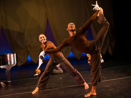 Camille A. Brown and Dancers perform Saturday at the Flynn Center in Burlington.