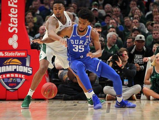 NCAA Basketball: Champions Classic-Duke vs Michigan State