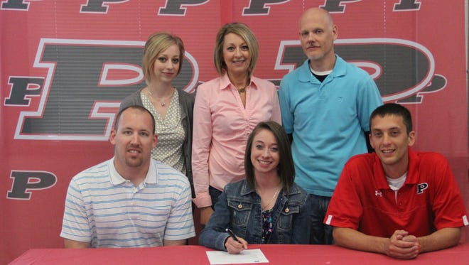 Pisgah senior Hannah Warren has signed to run college track for East Tennessee State.