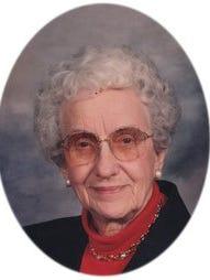 Lorraine Gaard, 98