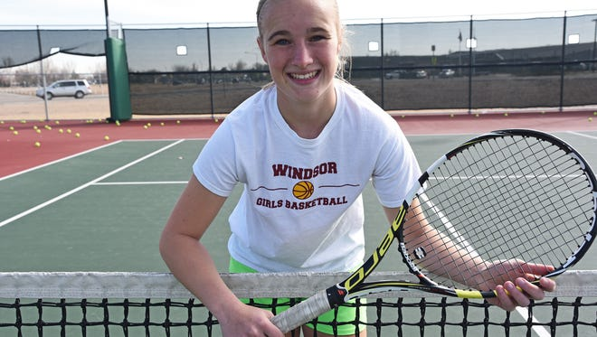 Windsor High School senior Amanda Ward will be key to helping the Wizards advance past regionals this year.