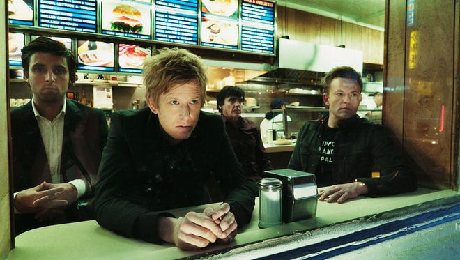 Spoon was founded in Austin, Texas, in 1993. The band is, from left, Alex Fischel, Jim Daniel, Jim Eno and Rob Pope.