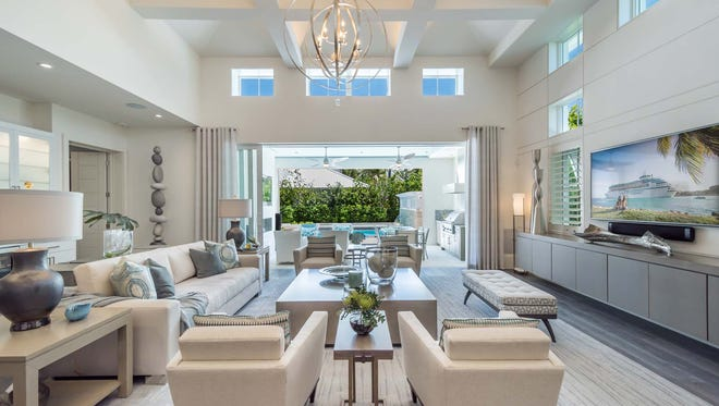 The Watlington model by London Bay Homes is open for viewing at 41 Fifth St. S.