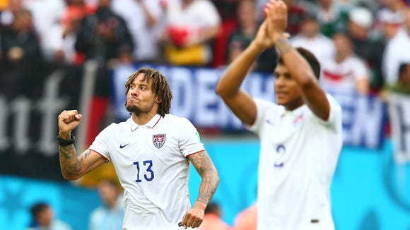 The United States has advanced to the knockout stage of the World Cup in Brazil.