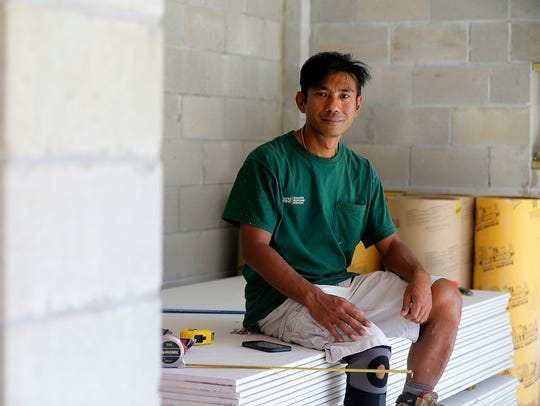 Harry Pangemanan, an undocumented immigrant from Indonesia
