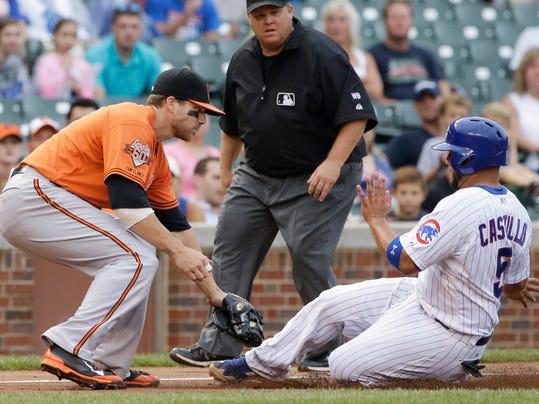 Orioles Cubs Baseball