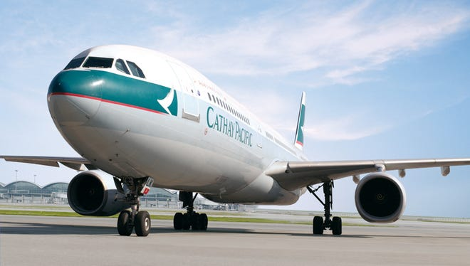 File photo of a Cathay Pacific Airbus A330.