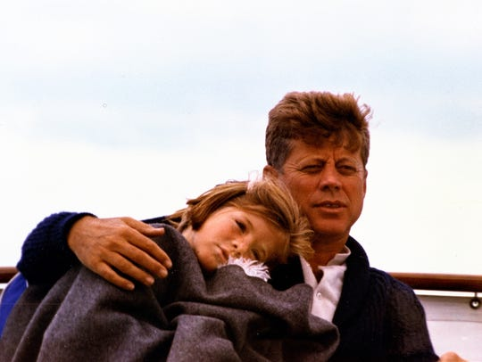 In August 1963, President Kennedy went sailing with