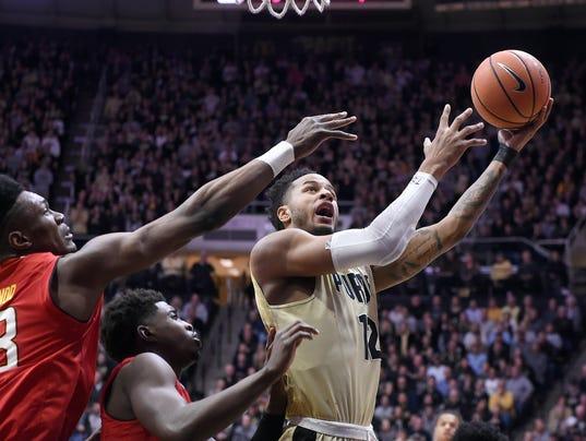 NCAA Basketball: Maryland at Purdue