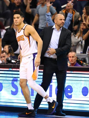 How would Jason Kidd fare as the coach of Devin Booker and the Suns?