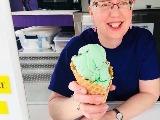 Ellen Shaffer, owner of Sarah's Creamery, is one of