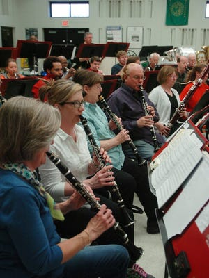 The Farmington Community Band headlines the concert series June 29 at the LaFontaine Amphitheater in Milford.