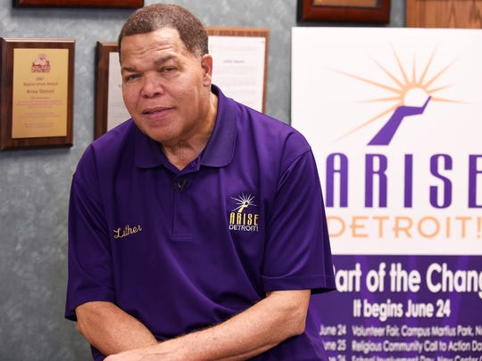 Luther Keith launched the nonprofit ARISE Detroit! in 2006 to connect people and organizations doing good volunteer work all across the city.